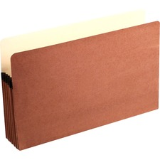 WLJ 76 Acco/Wilson Jones Recycled Red Rope File Pockets WLJ76