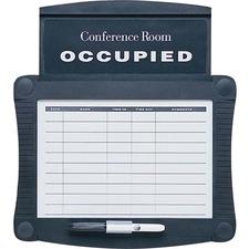 QRT 995 Quartet Conference Room Scheduler Sign QRT995
