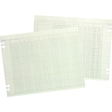 Wilson Jones Regular Ledger Sheets - WLJ G1024
