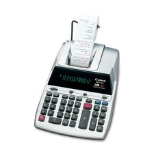 "Canon MP11DX Soft Touch Printing Calculator - 12 Character(s) - Fluorescent - AC Supply Powered - 3.2"" x 8.6\"" x 12.7\"""