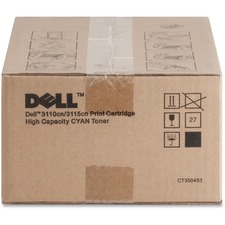 Dell PF029 Cyan Toner Cartridge