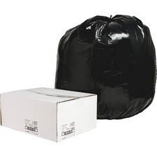 NAT 00997 Nature Saver Black Low-density Recycled Can Liners NAT00997
