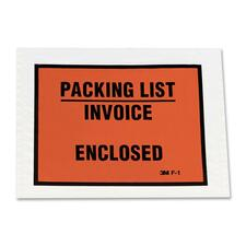 MMM F1100 3M Full Print Packing List Envelopes MMMF1100