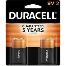 DUR MN1604B2Z Duracell Coppertop Alkaline 9-Volt Batteries DURMN1604B2Z