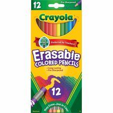 CYO 684412 Crayola Erasable Colored Pencils  CYO684412