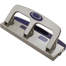 OIC 90102 Officemate Deluxe Standard 3-hole Punch w/Drawer OIC90102
