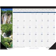 HOD 171 Doolittle Waterfalls Calendar Desk Pad HOD171