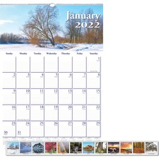 HOD 378 Doolittle Earthscapes Scenic Wall Calendars HOD378