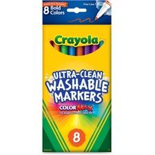 CYO 587836 Crayola Bright Washable Markers  CYO587836