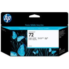 Hewlett Packard C9370A HP 72 Ink Cartridge, 130ml, Black, HEWC9370A, HEW C9370A