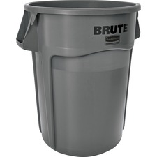 Rubbermaid Commercial Brute 44-Gallon Utility Container - 44 gal Capacity - Gray
