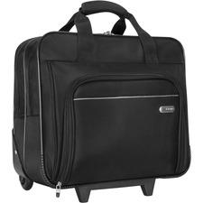 "Targus 16"" Metro Roller Notebook Bag - 16"" Screen Support - Polyester - Black"