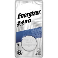 EVE ECR2430BP Energizer Eveready 3V Lithium Watch/Calc Battery EVEECR2430BP