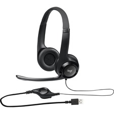 LOG 981000014 Logitech Padded H390 USB Headset LOG981000014