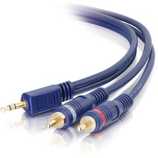 Cables To Go 25 ft Velocity Audio Y Cable