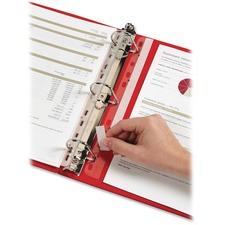 CRD 21110 Cardinal HOLDit! Binder Insert Strips CRD21110