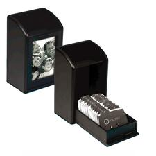 ROL 1734239 Rolodex Wood Tones Photo Business Card Files ROL1734239