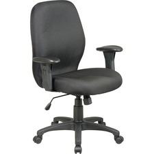 LLR 86903 Lorell High Performance Adj. Arms Ergonomic Chair LLR86903