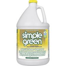 Simple Green Industrial Cleaner/Degreaser - Concentrate Liquid - 1 gal (128 fl oz) - Lemon Scent - 1 Each - Lemon