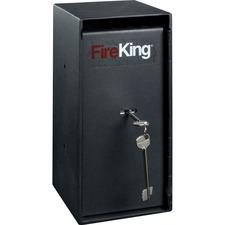 FIR MS1206 FireKing Trim Safe w/Cash Drop Slots FIRMS1206