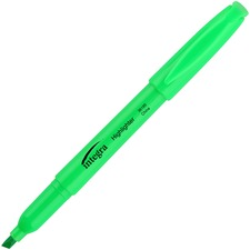 ITA 36185 Integra Pen Style Fluorescent Highlighters ITA36185