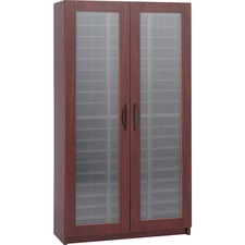 SAF 9355MH Safco 60-Compt Frosted Door Literature Organizers SAF9355MH