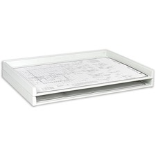 SAF 4899 Safco Heavy-duty Plastic Stacking Trays SAF4899
