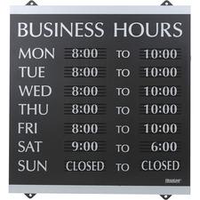 HeadLine 4247 Information Sign