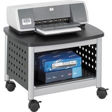 SAF 1855BL Safco Scoot Underdesk Printer Stand SAF1855BL