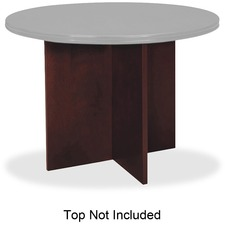 BSX BWX01NN Basyx HBW Series Mahogany Rnd Conference Table  BSXBWX01NN