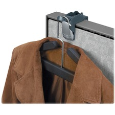 FEL 7501101 Fellowes Adjustable Over-the-Door Coat Hook / Clip FEL7501101