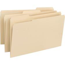 SMD 15347 Smead 1/3 Cut Top Tab Manila File Folders SMD15347