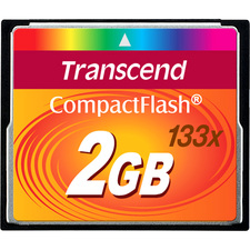 Transcend 2GB CompactFlash Card (133x)