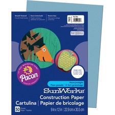 PAC 7603 Pacon SunWorks Groundwood Construction Paper PAC7603