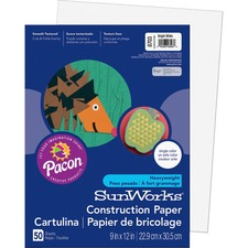 PAC 8703 Pacon SunWorks Heavyweight Construction Paper PAC8703