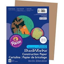 PAC 6903 Pacon SunWorks Groundwood Construction Paper PAC6903
