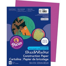 PAC 6403 Pacon SunWorks Groundwood Construction Paper PAC6403