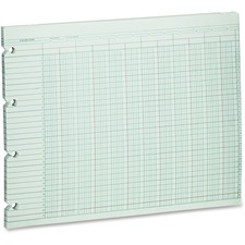WLJ G3020 Acco/Wilson Jones 20-column Prepunch Ledger Paper WLJG3020