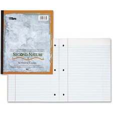 TOP 74832 Tops Second Nature Wireless Notebooks TOP74832