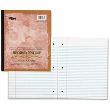 TOP 74831 TOPS Second Nature Wireless Single Subject Notebook TOP74831