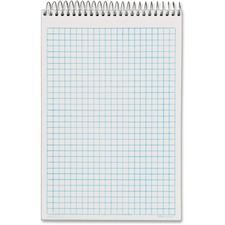 TOP 63825 Tops Noteworks Quadrille Ruled Steno Book TOP63825