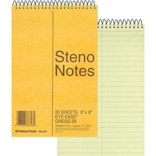 RED 36646 Rediform Wirebound Steno Notebook RED36646