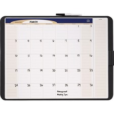 QRT CT2317 Quartet Tack/Write Monthly Calendar QRTCT2317