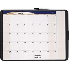 QRT CT1711 Quartet Tack/Write Monthly Calendar QRTCT1711