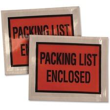 QUA 46895 Quality Park Full Print Slf Adhsv Pack List Envlps QUA46895