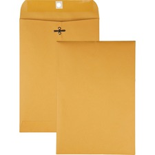 QUA 37868 Quality Park Gummed Kraft Clasp Envelopes QUA37868
