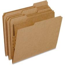 PFX FK211 Pendaflex Kraft Letter Size Fastener Folders PFXFK211