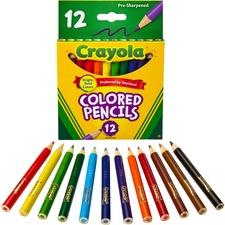 CYO 684112 Crayola 12 Color Colored Pencils CYO684112
