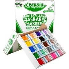 CYO 588211 Crayola Fine Line Markers Classpack CYO588211