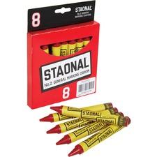 CYO 5200023038 Crayola No. 2 Staonal Marking Wax Crayons CYO5200023038
